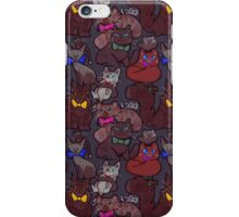 Cats in Bow Ties iPhone Case/Skin