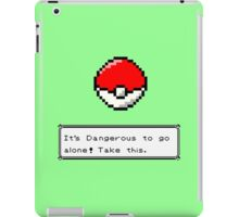 pixel ball iPad Case/Skin