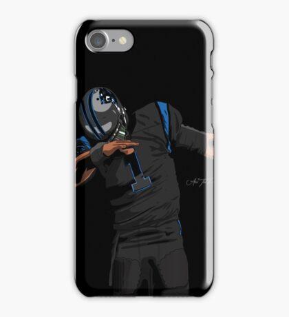 (Black Uniform) Cam Newton Dab  iPhone Case/Skin