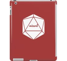 __dungeons and dragons wizard iPad Case/Skin