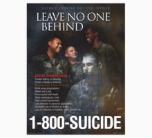 Military Suicide Prevention One Piece - Long Sleeve