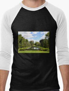 Cantigny Gardens Men's Baseball ¾ T-Shirt