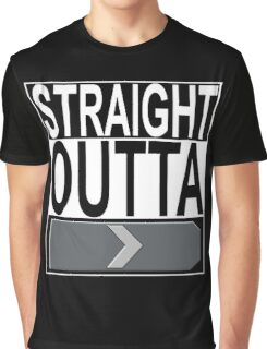 Straight Outta Silver 1 Graphic T-Shirt