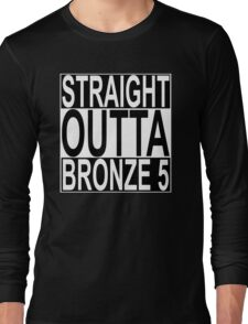 Straight Outta Bronze 5 Long Sleeve T-Shirt