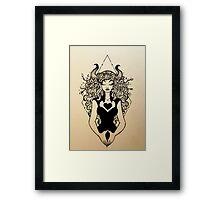 Ink Love Framed Print
