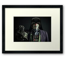 Why So Sithious? Framed Print