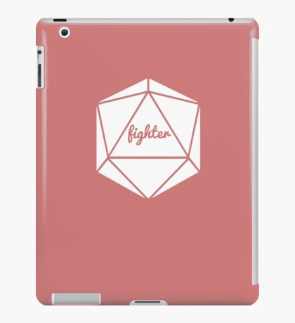 __dungeons and dragons fighter iPad Case/Skin