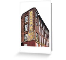Broad Street Wharehouse Corporation Greeting Card