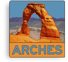 Arches National Park - Delicate Arch - Moab Utah Canvas Print