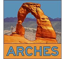Arches National Park - Delicate Arch - Moab Utah Photographic Print