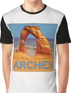 Arches National Park - Delicate Arch - Moab Utah Graphic T-Shirt
