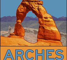 Arches National Park - Delicate Arch - Moab Utah by IntWanderer
