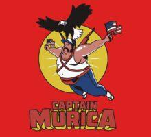 Captain Murica One Piece - Short Sleeve