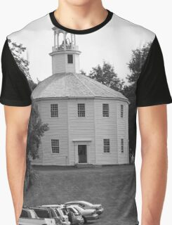 Old Round Church Graphic T-Shirt