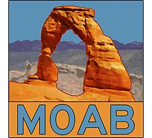 Moab Utah - Arches National Park - Delicate Arch Photographic Print