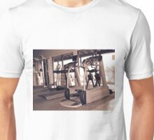 Treadmill Gym Unisex T-Shirt