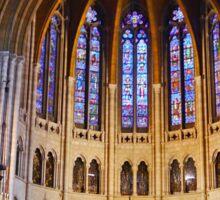 Riverside church, New York, interior Sticker