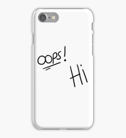 OOPS! HI LARRY STYLINSON iPhone Case/Skin