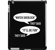 Watch Sherlock iPad Case/Skin
