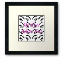 My Eyes Adore You, Na'au/Feelings Collection Framed Print