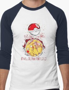 Pikachu Pokemon Quotes T-Shirt