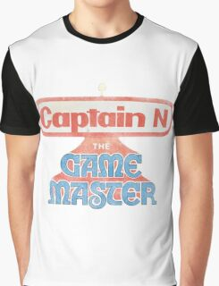 Captain N The Game Master Graphic T-Shirt