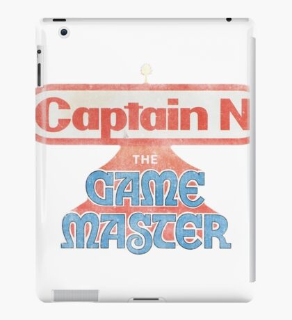 Captain N The Game Master iPad Case/Skin