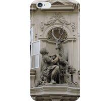 The golden Stag, Prague, Czech Republic iPhone Case/Skin