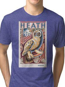 Vintage poster - Heath Tri-blend T-Shirt
