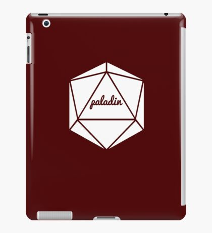 __dungeons and dragons paladin iPad Case/Skin