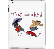 Troy and Abed iPad Case/Skin