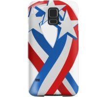 Patriotic Ribbon Samsung Galaxy Case/Skin