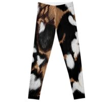 African Wild Dog Camo Leggings