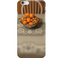 Fruit and Nuts iPhone Case/Skin
