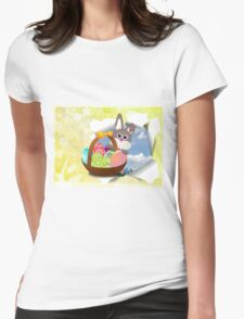 Easter Womens Fitted T-Shirt