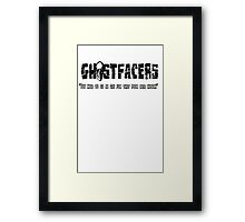 supernatural ghostfacers Framed Print