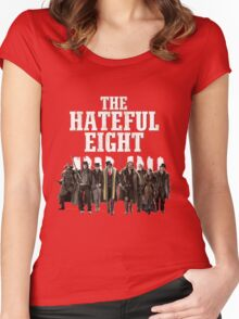 the hateful eight characters Women's Fitted Scoop T-Shirt