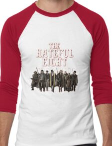 the hateful eight characters Men's Baseball ¾ T-Shirt