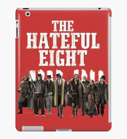 the hateful eight characters iPad Case/Skin