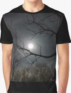 Halo of the Full Moon Graphic T-Shirt