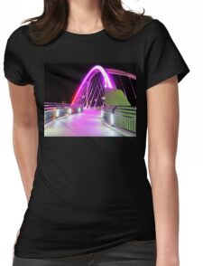 Into The Pink Womens Fitted T-Shirt