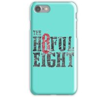 the hateful eight movie iPhone Case/Skin
