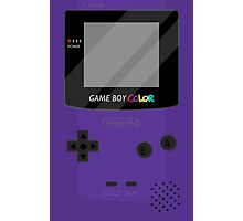 Gameboy Color - Purple Photographic Print