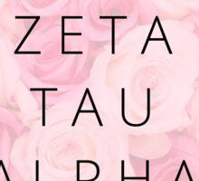 ZTA Roses Sticker