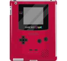 Gameboy Color - Red iPad Case/Skin