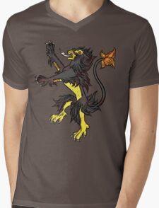 Pokemon / Game of Thrones: Luxray / Lannister Mens V-Neck T-Shirt