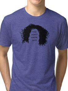 You don't know Jack Tri-blend T-Shirt