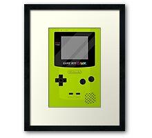 Gameboy Color - Green Framed Print