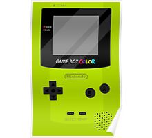Gameboy Color - Green Poster