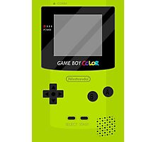 Gameboy Color - Green Photographic Print
